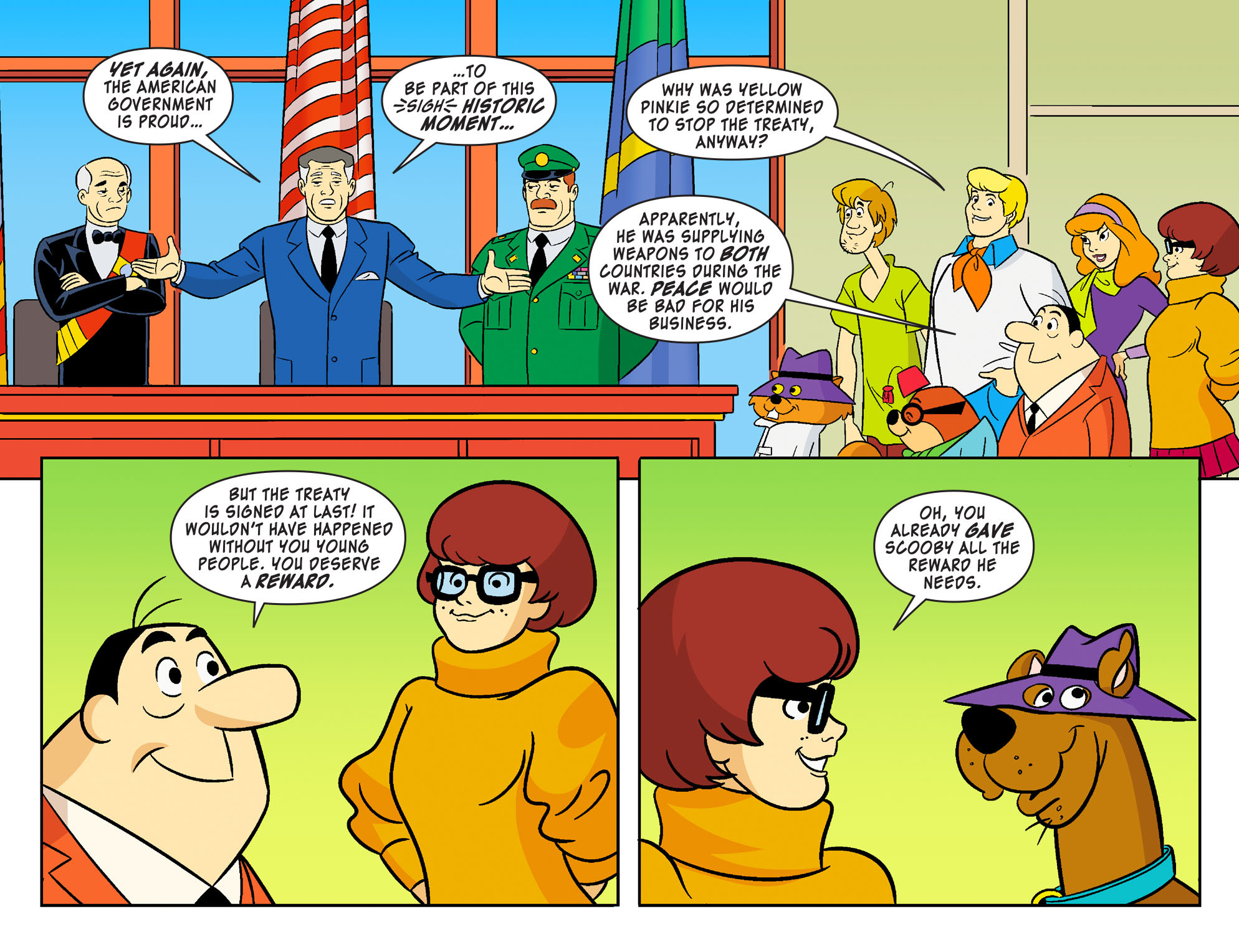 Read online Scooby-Doo! Team-Up comic -  Issue #22 - 21