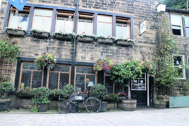 Beautiful cafe in Haworth, Yorkshire