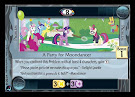 My Little Pony A Party for Moondancer High Magic CCG Card