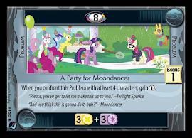 My Little Pony A Party for Moondancer High Magic CCG Card