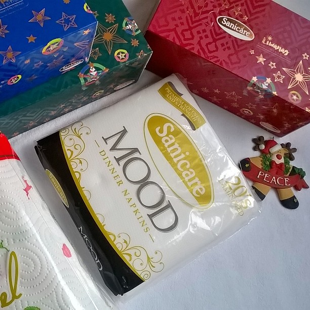 Christmas Tips, Sanicare, All-Around Pinay Mama, SJ Valdez, Starry Bright Christmas Promo, Sanicare Liwanag Christmas Edition  Facial Tissues, Mood Tissue, Christmas Edition Kitchen Towels