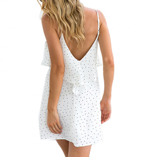 http://www.cutewe.com/ruffles-polka-dot-chiffon-dress-v-neck-spaghetti-strap-backless-short-mini-dress.html