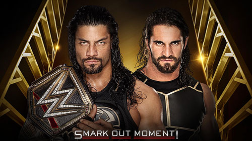 WWE Money in the Bank 2016 Seth Rollins vs Roman Reigns