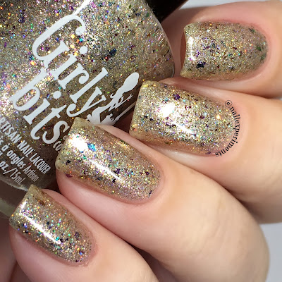 Girly Bits Festival of Lights swatch december 2017 the polish pickup
