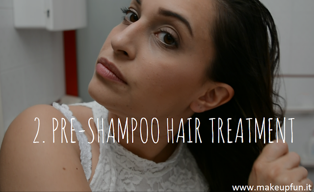 coconut oil pre-shampoo hair treatment