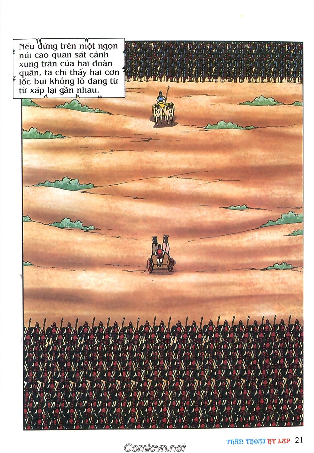 Thần Thoại Hy Lạp Màu - Chapter 57: Cuộc chiến định mệnh - Pic 20