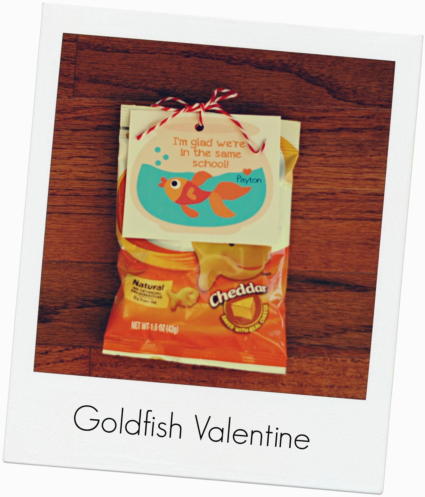 goldfish for valentine's day party