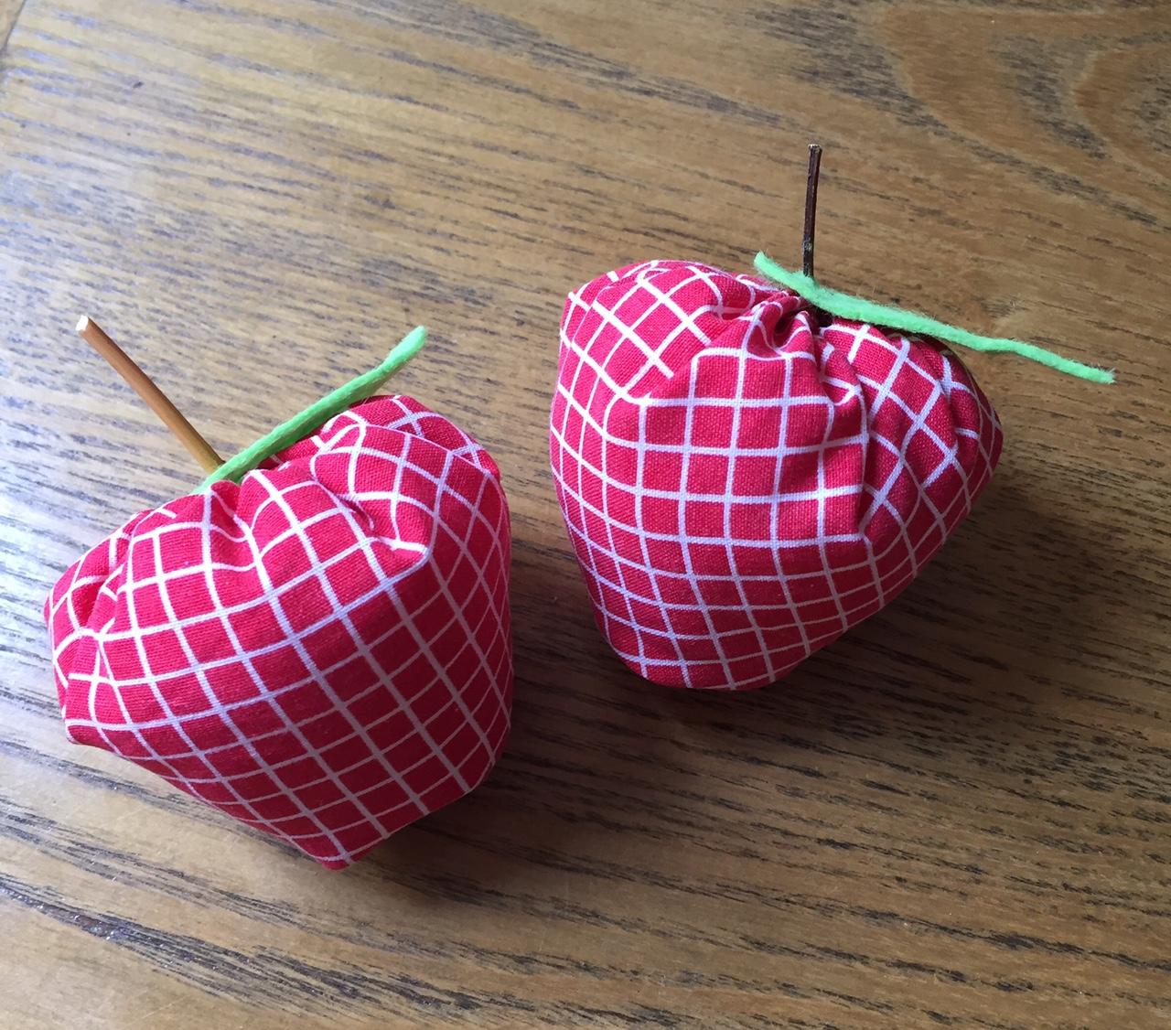 Wollcraft: Äpfel nähen