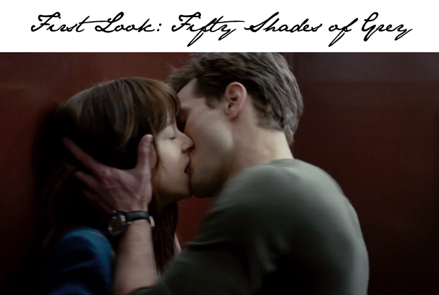 Fifty Shades of Grey Elevator Kiss