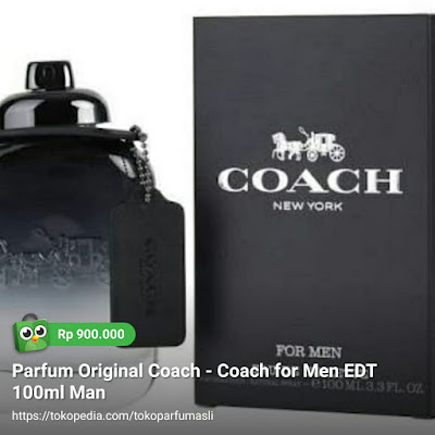toko parfum asli parfum original coach for men edt 100ml man