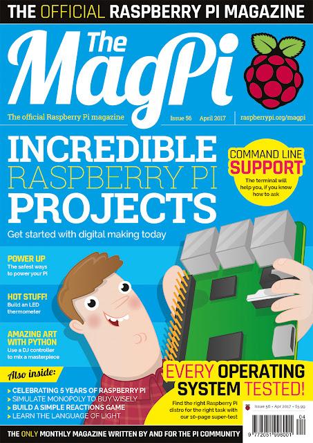 The MagPi 56ª edição