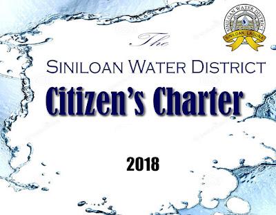SIWADI Citizen's Charter 2018