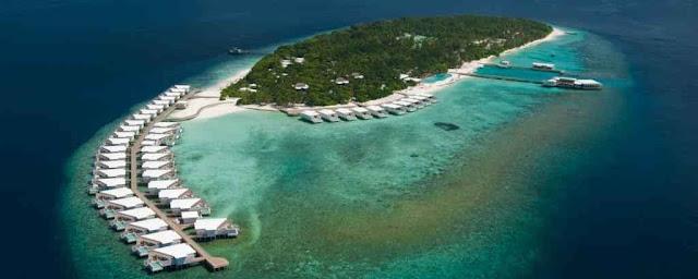 Amilla Fushi tropski raj na Maldivima