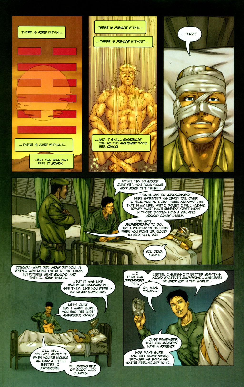 Read online Snake Eyes: Declassified comic -  Issue #1 - 21
