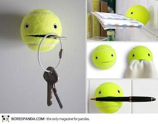 حامل المفاتيح أو الاقلام