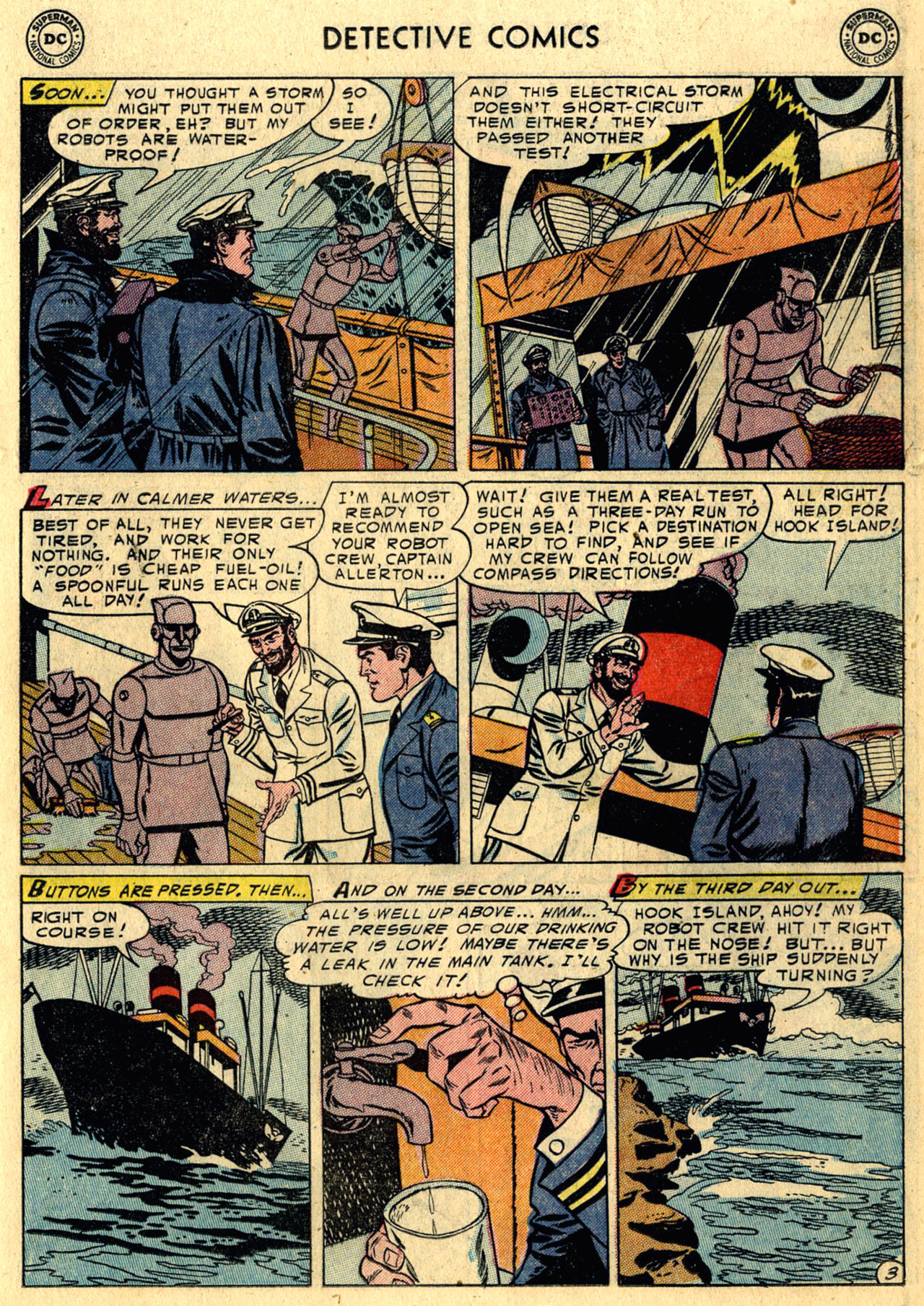 Read online Detective Comics (1937) comic -  Issue #216 - 19