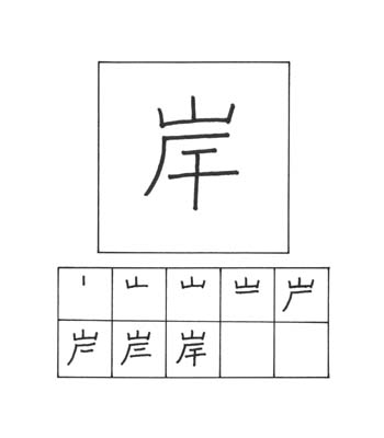 kanji pantai