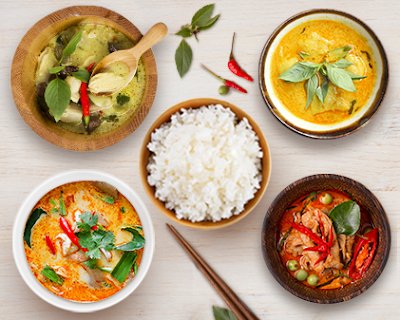 Thai curries