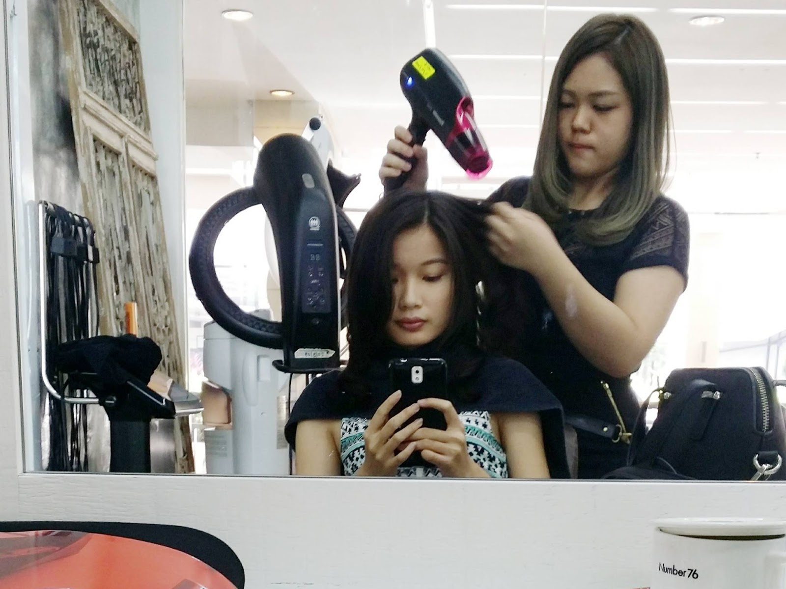 M A N D Y: Digital Perm @ Number76 Mid Valley (Giving away ...