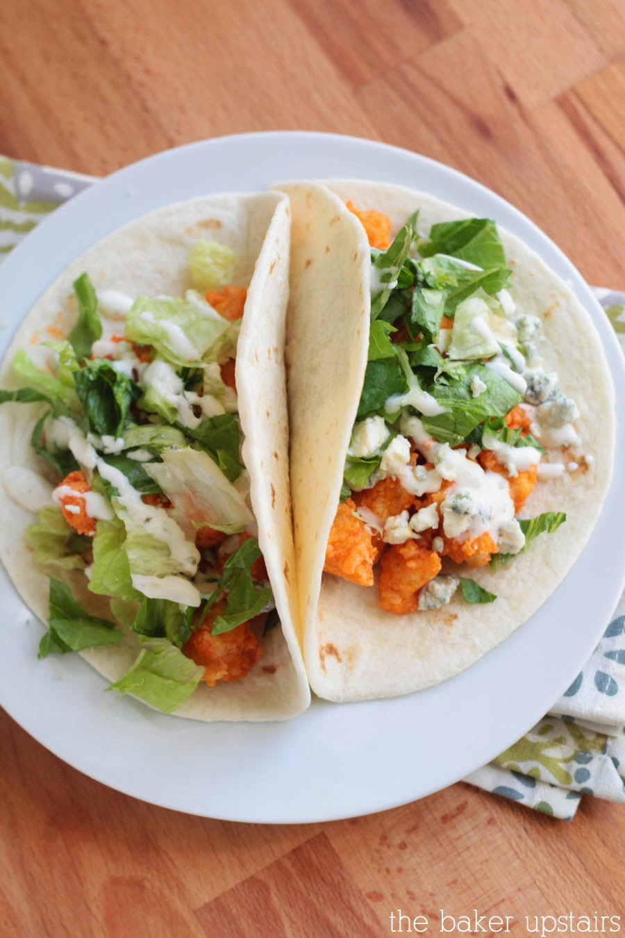 These buffalo chicken tacos are packed with flavor and so delicious!