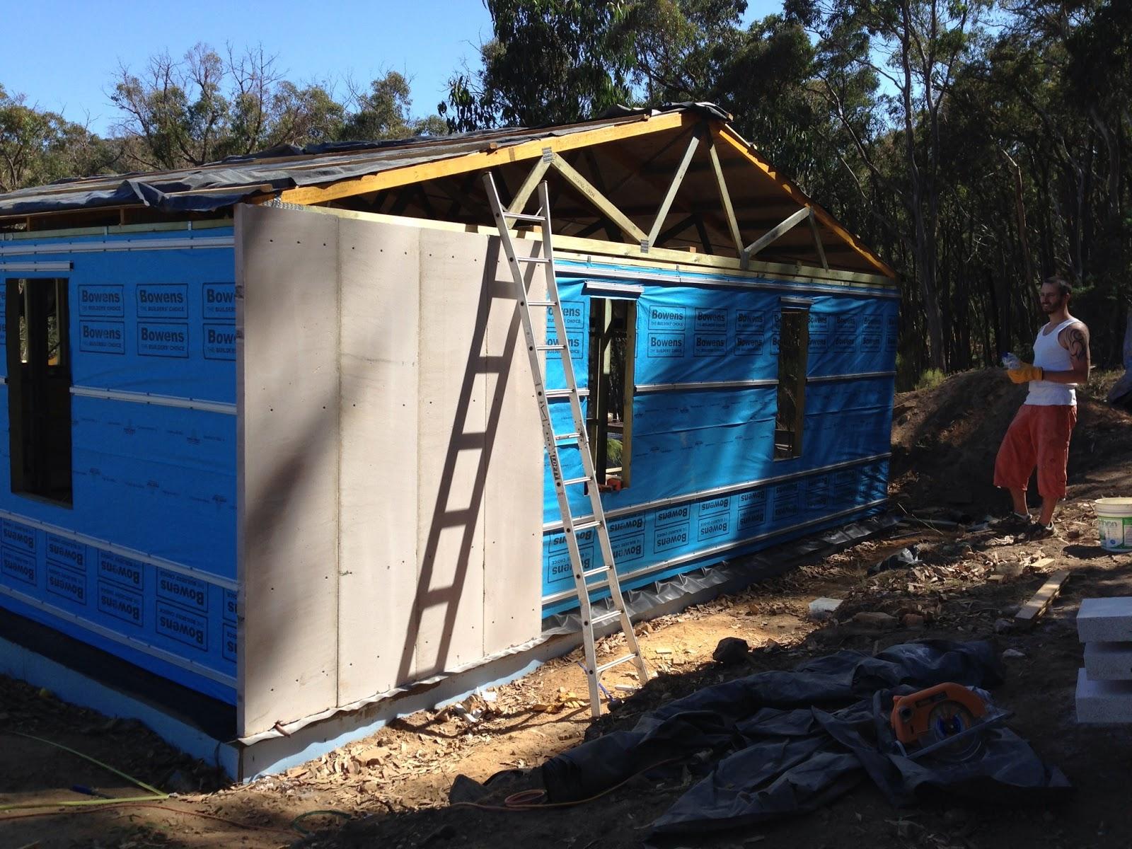 Building hebel shed