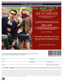 free Tommy Hilfiger coupons for april 2017