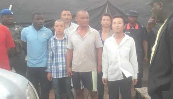 Chinese Miners Arrested For Illegal Mining