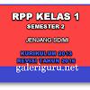 RPP Kurikulum 2013 Semester Genap Kelas 1 SD Revisi Tahun 2016 | Galeri Guru