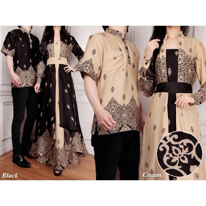 Jual Online Batik Couple Murah di Jakarta Bahan Rayon Terbaru