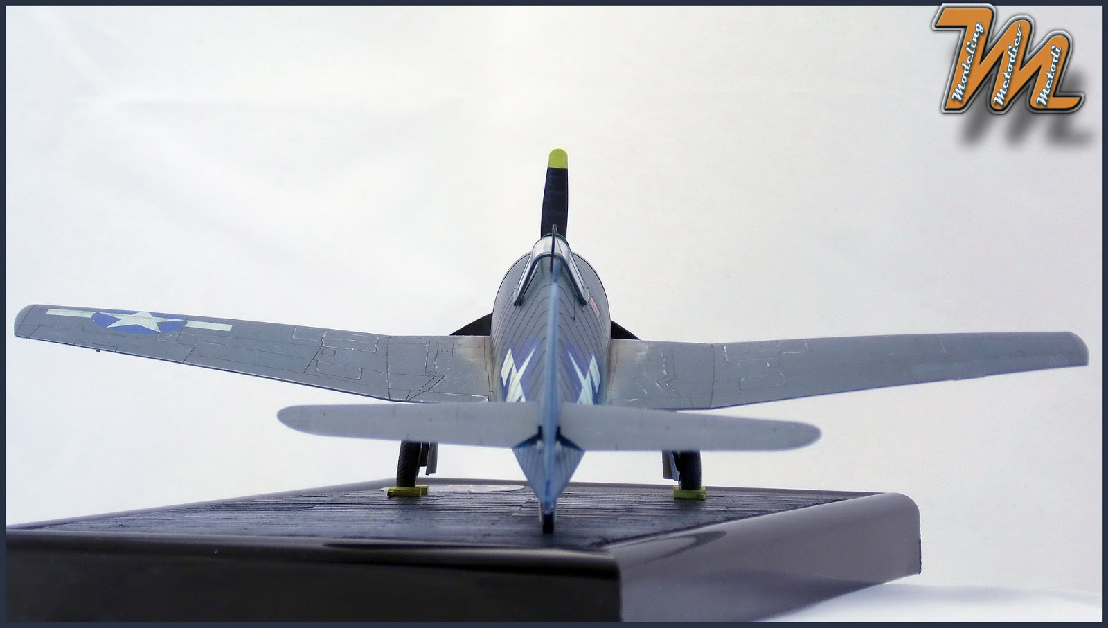 F6F, Hellcat VF-27, airplane scale model