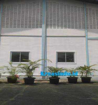 Tiang Bendera Besi pesanan PT FSCM Manufacturing Indonesia di Cirebon