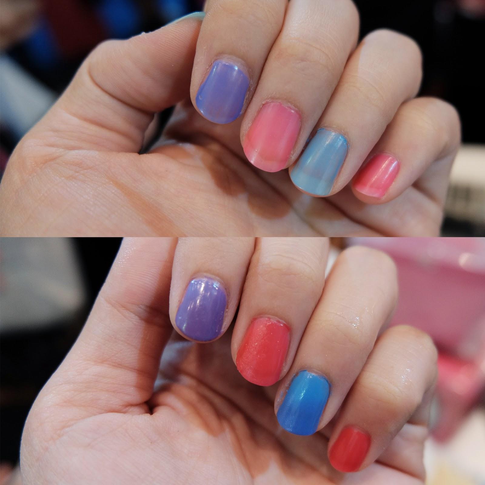 mukka kosmetik changing color nail | bigdreamerblog.com