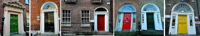Passeio grátis em Dublin: roteiro pela arquitetura georgiana