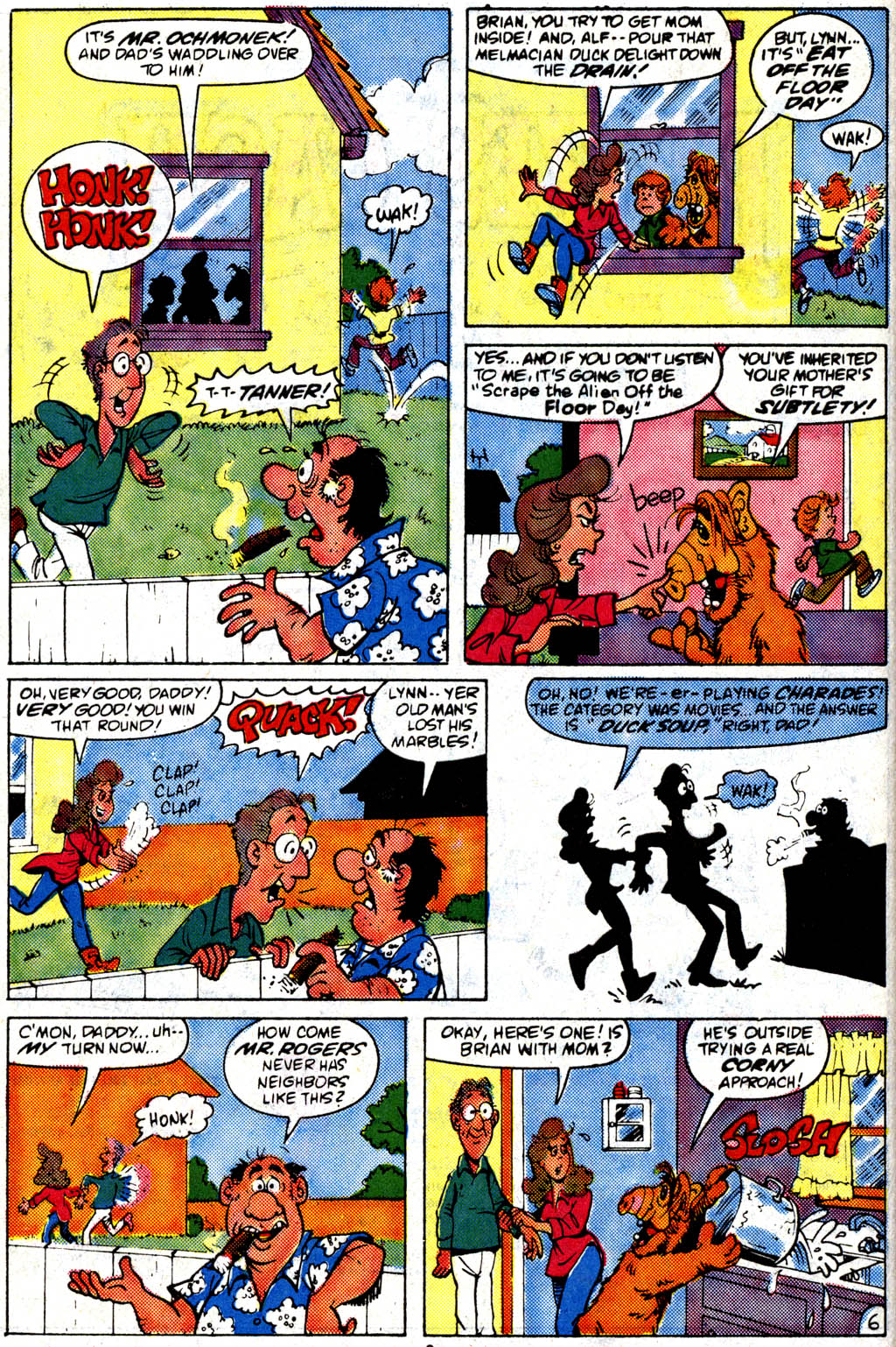 Read online ALF comic -  Issue #9 - 7