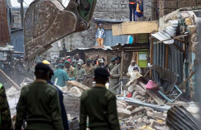Building collapses in Kenya's capital; police report 3 dead
