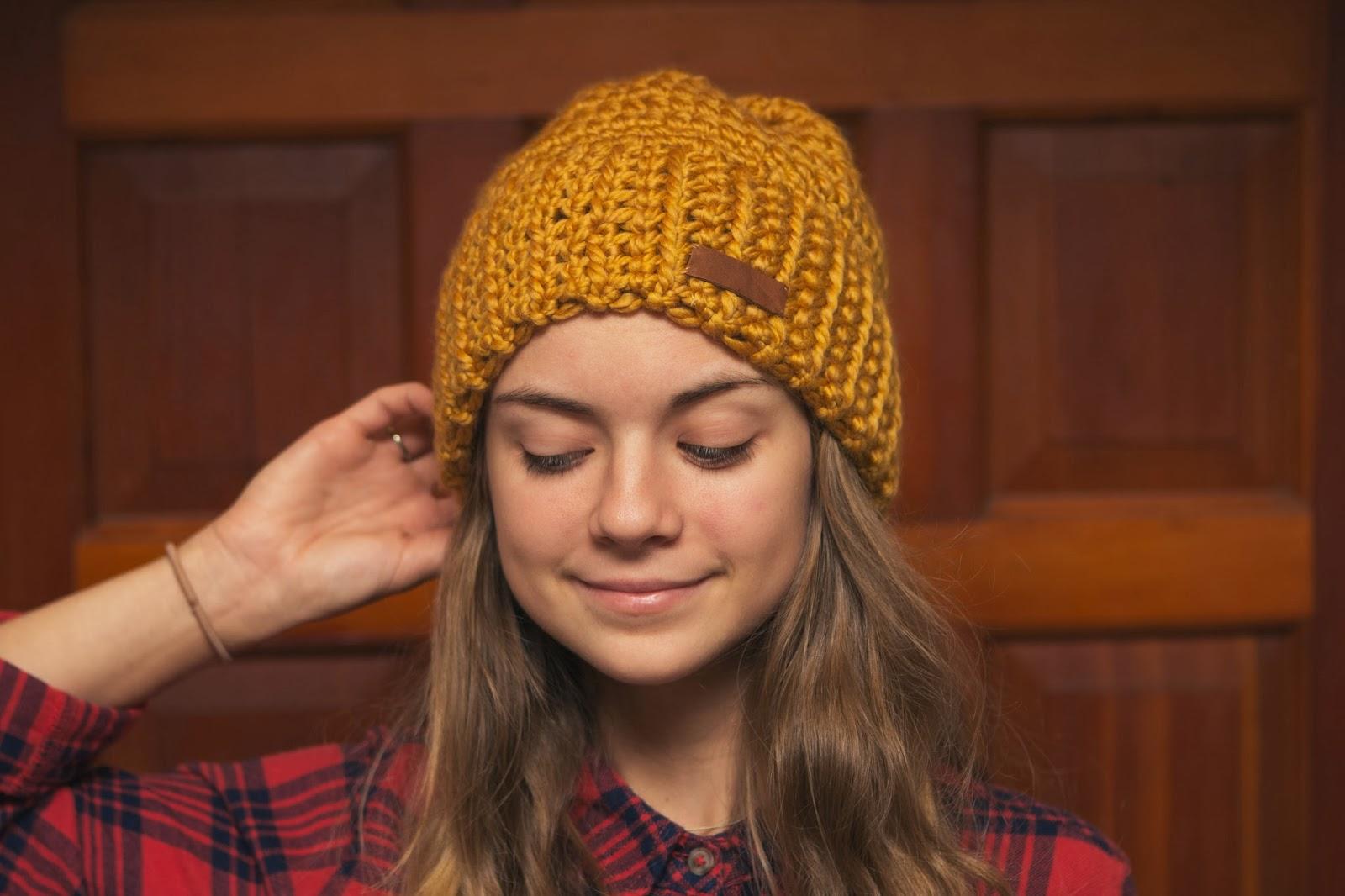 always rooney  Learn To Crochet  Beanie Pattern 1110a2b967c