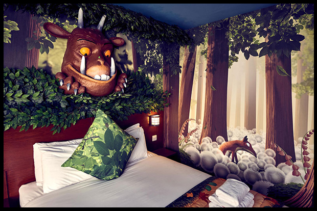 Fantastic stay at the Gruffalo room at Chessington