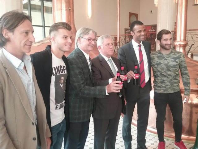 Estrella Damm renueva con el Mallorca hasta el 2019