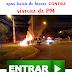 IMPRESSIONANTE MOTO EXPLODE AO BATER DE FRENTE EM VIATURA DA POLICIA MILITAR
