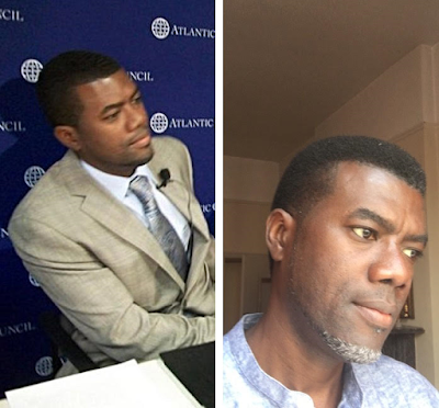 Before and After photos of Reno Omokri in Politics