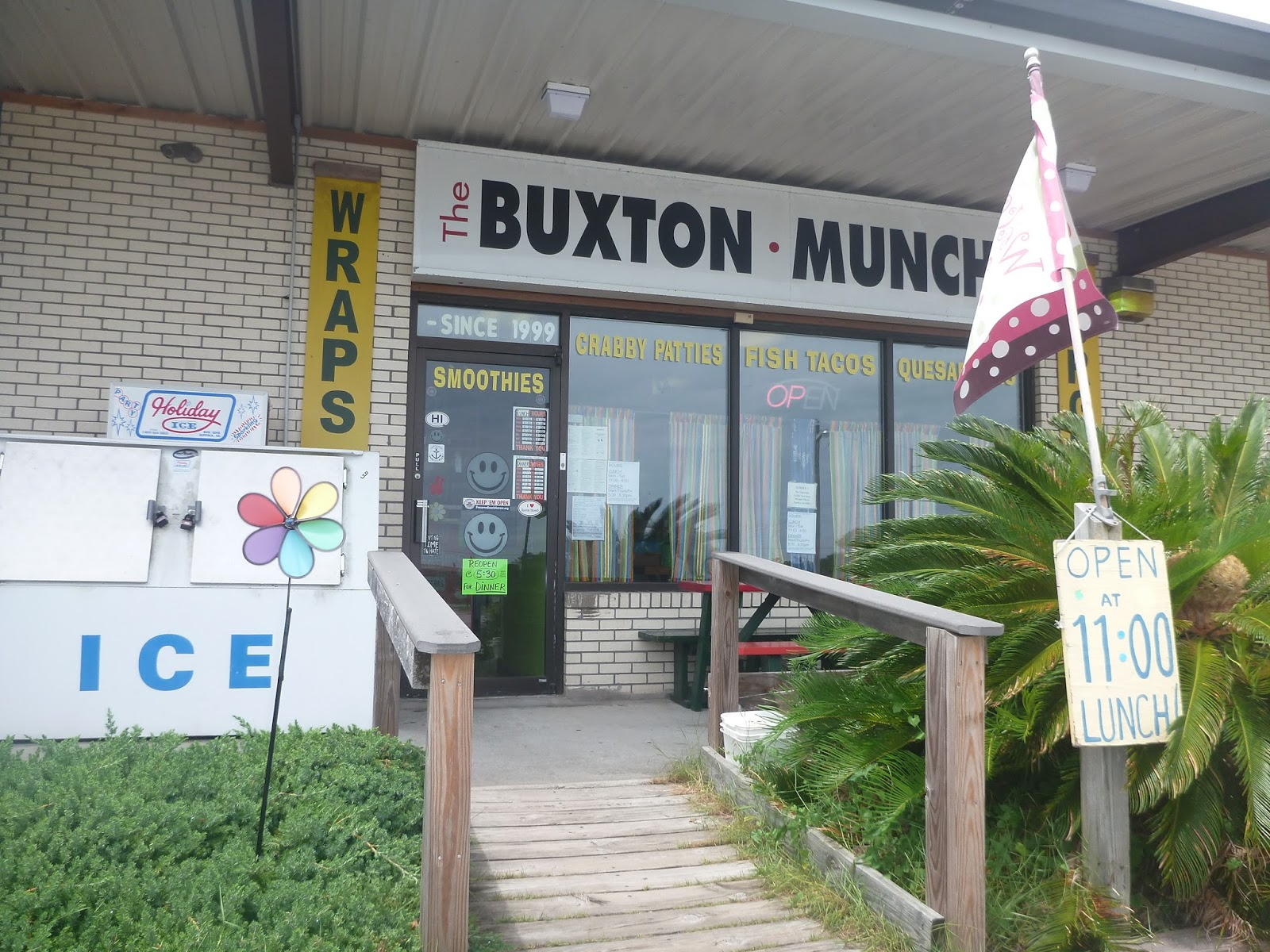 Buxton Munch: Don't Judge a Book by Its Cover