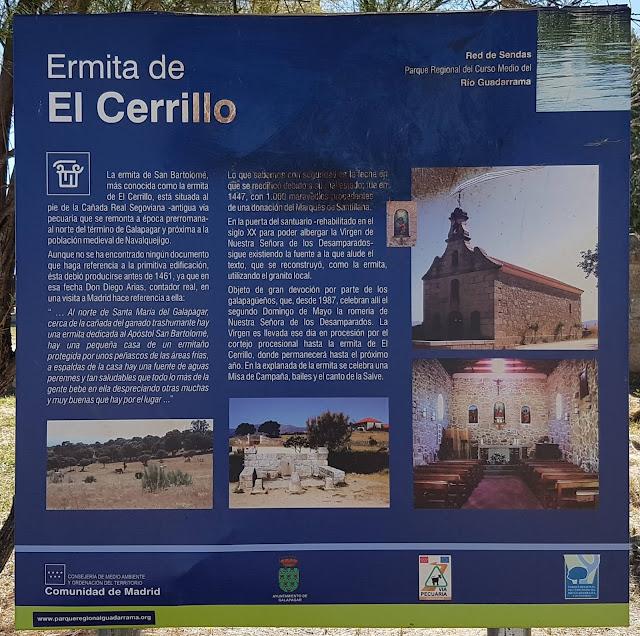 Información de la Ermita de El Cerrillo