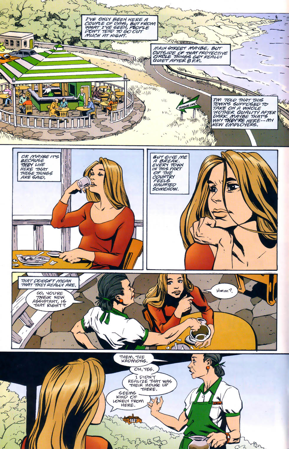 Read online Midnight, Mass comic -  Issue #1 - 5