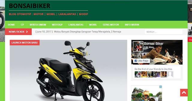Bonsaibiker.com - Blog Otomotif  Terbaik Di Indonesia