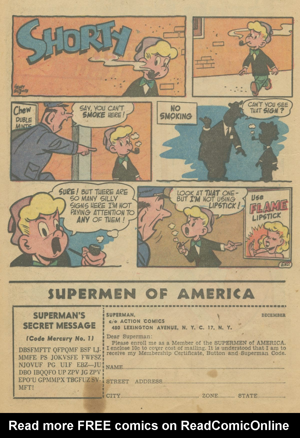 Read online Action Comics (1938) comic -  Issue #199 - 17