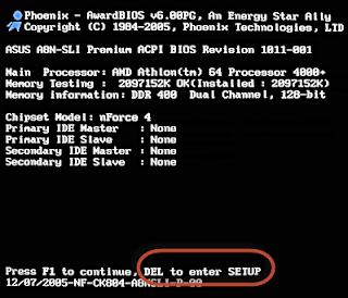 Cara Setting Bios Agar booting dari Flashdisk / DVD [Lengkap]