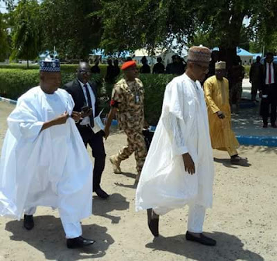 wp 1506872650099 - 9JA NEWS: #NigeriaAt57.... President Buhari is spending Independence Day with Troops in Borno(Photos)
