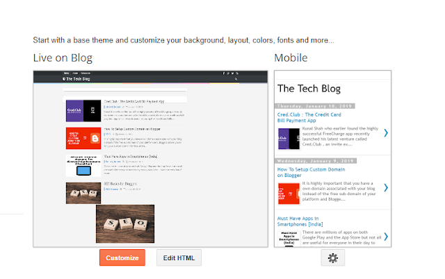 Paste The Tracking Code to Blogger