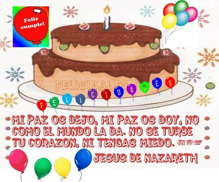 feli cumpleaños jesus