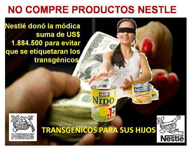 Resultado de imagen de Como Nestlé manipula y engaña para vender sus basuras